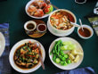 An assortment of local Thai dishes