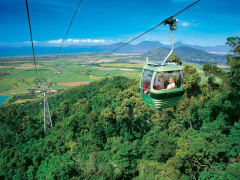 Kuranda Rainforest cable car