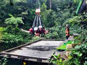 """AJ Hackett Giant Jungle Swing Experience"