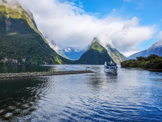 fiordland national park tour and milford sound cruise from