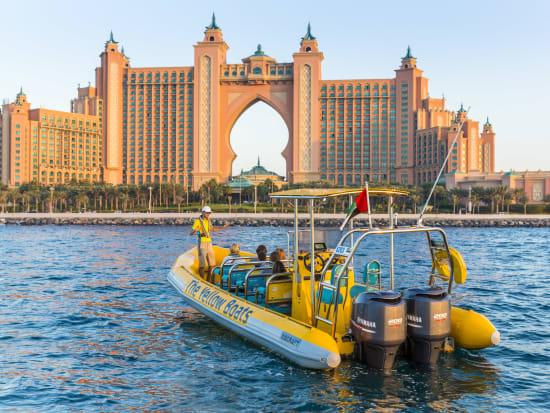 UAE, Dubai, Speed Boat Tour