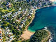 Manly Beach Aerial View
