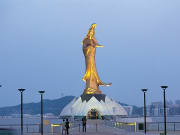 Statue of Kun Lam goddess of mercy macau