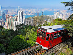 Victoria Peak Tram hong kong half day tour