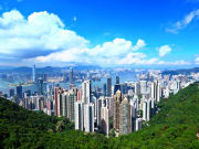 View from Victoria Peak hong kong half day tour