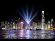 Victoria Harbour symphony of lights show