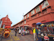 Malacca The Red Square Christ Church Malaysia