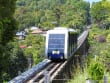 funicular train ride to penang hill