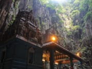 temple inside the batu caves malaysia
