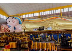 reclining buddha wat chaiyamangkalaram penang tour