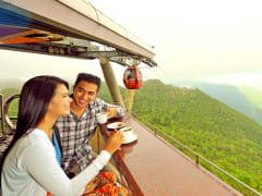 langkawi cable car mat cincang mountain