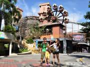 sunway lagoon day tour family near wagon wheel