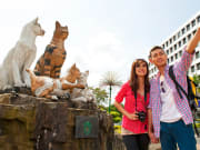 Kuching_City (1) cat statue