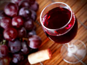 red wine-crop