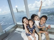 sky100_family happy faces with window sticker2
