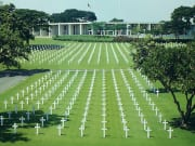 Manila American Cemetery in the philippines