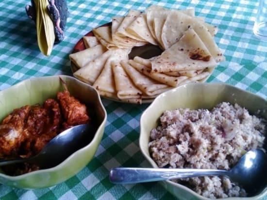 モルディブ家庭料理(イメージ)