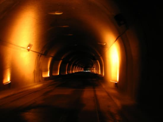 inside malinta tunnel in corregidor island