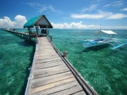 nalusuan island pier boat jetty cebu philippines