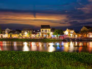 Hoi An in Vietnam at night