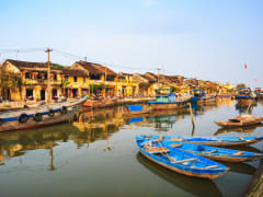 Thu Bon River in Hoi An Ancient Town