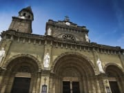 intramuros manila cathedral exterior