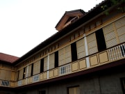 Casa Manila stone and wood structure