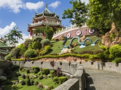 Taoist Temple in Beverly Hills Subdivision