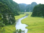 Tam Coc rice fields boat trip Vietnam