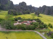 Aerial View Ancient Capital of Vietnam