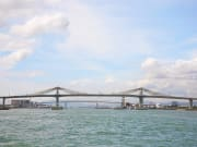 cebu mactan bridge view of water and sky