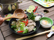 Sample authentic Vietnamese dishes