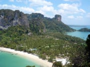 Panoramic view of Krabi