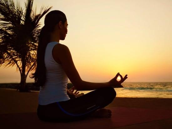 Madinat Jumeirah - Talise Spa - sunset yoga