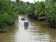boat ride at mekong delta vietnam