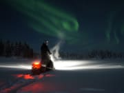 Northern Lights Snowmobile Tour from Rovaniemi