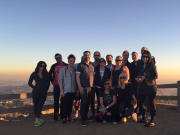 USA_Los Angeles_Hollywood Sign_Hike_Sunset