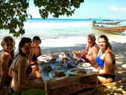 Beach Picnic Thailand Koh Tan Koh Mudsum