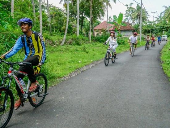サイクリングの様子