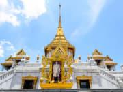 Wat Traimit Temple bangkok thailand