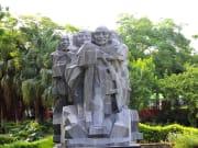 National Gandhi Museum statues