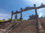 citadel stairs imperial city hue vietnam