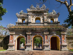 Gate of the citadel Imperial Forbidden City in Hue