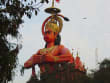 Monkey God Hanuman temple Delhi