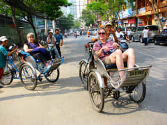 cyclo tour of ho chi minh