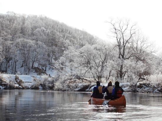 冬の釧路川№9