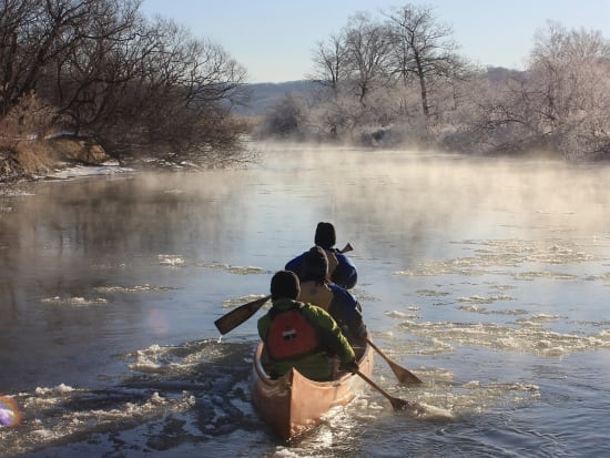 冬の釧路川№6