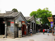 Shops along a hutong