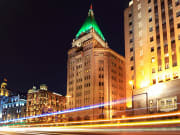 Fairmont Peace Hotel night view