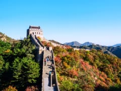 Badaling section of the Great Wall of China